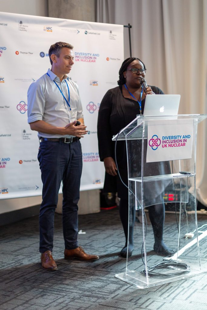 Our co-founders Callum Thomas and Monica Mwanje