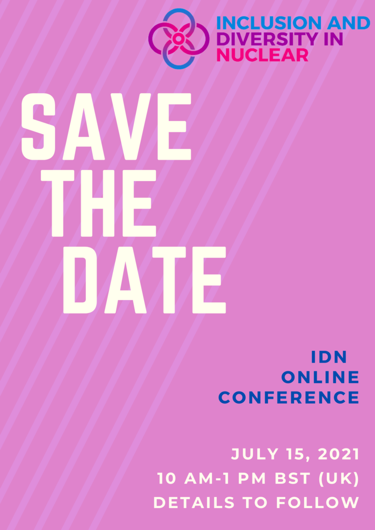 Save The Date poster, the conference will take place on 15 July 2021, from 10 AM to 1 PM British Summer Time.